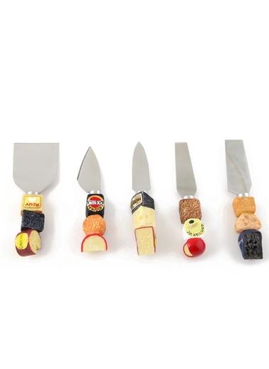 5'Lü Peynir Bıçak Seti-Kanca Ev